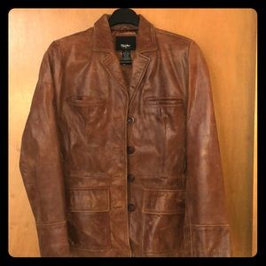 Awesome leather jacket worn a few times,